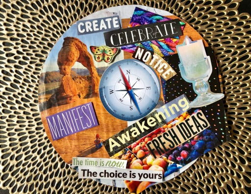 """Promotional Image for """"Create Your Vision 2019"""" Mindful Creativity workshop with Theresa Foster"""